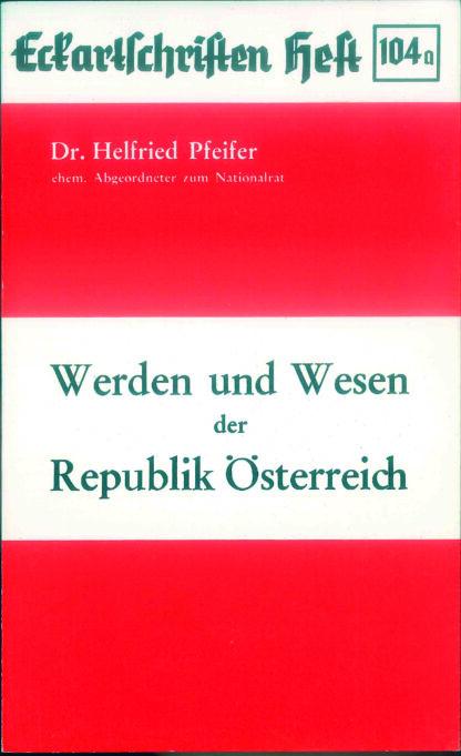 104a: Werden und Wesen der Republik Österreich