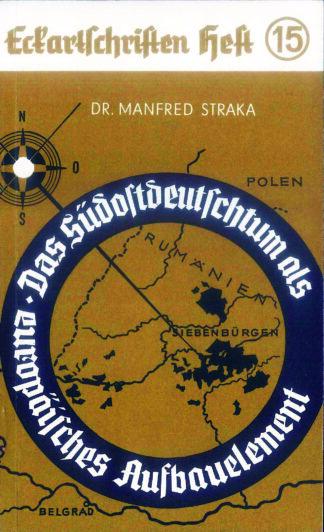 15: Das Südostdeutschtum als europäisches Aufauelement