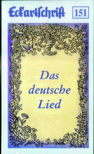 151: Das deutsche Lied
