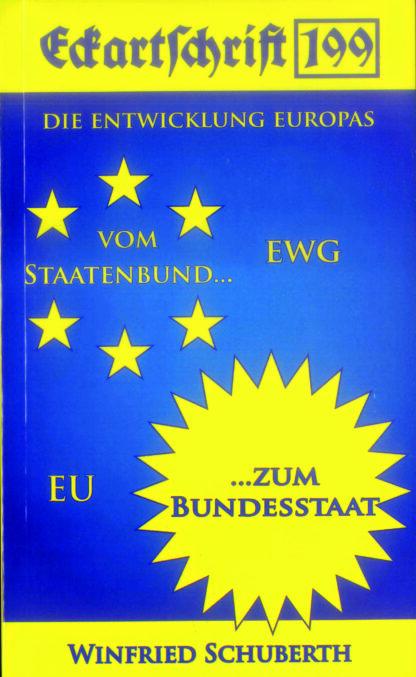 199: Die Entwicklung Europas vom Staatenbund zum Bundesstaat