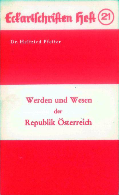 21: Werden und Wesen der Republik Österreich