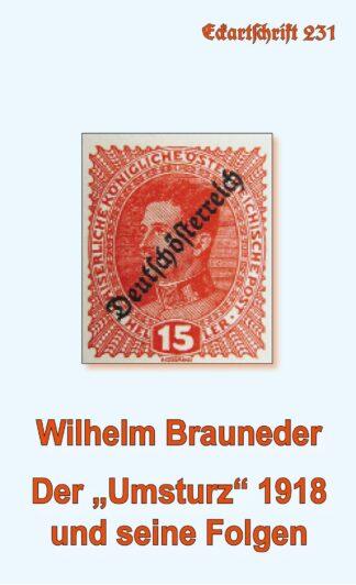 """231: Der """"Umsturz"""" 1918 und seine Folgen"""
