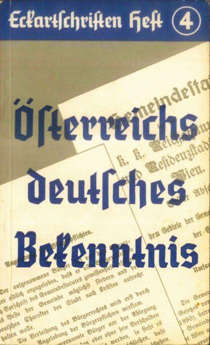 4: Österreichs deutsches Bekenntnis
