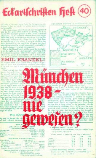 40: München 1938 - nie gewesen?