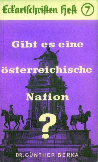 7: Gibt es eine österreichische Nation?