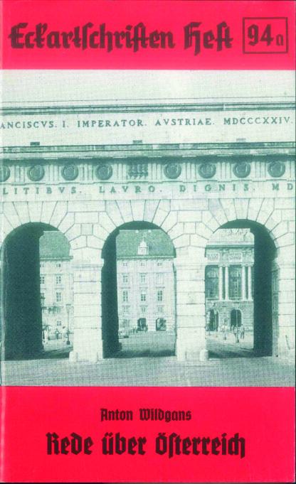 94a: Rede über Österreich - in der vollständigen Fassung